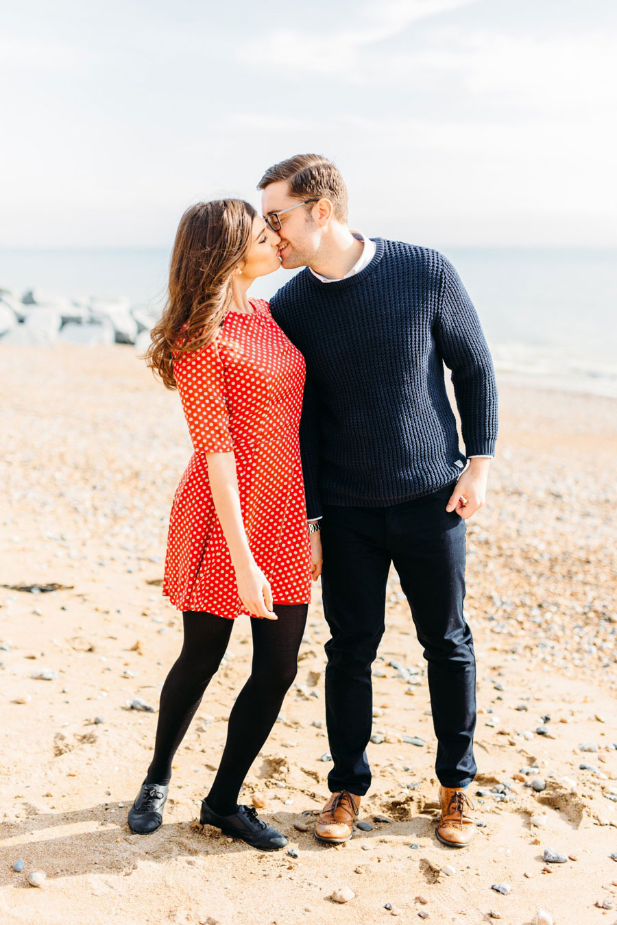 Shoreham Beach & Brighton Bandstand Engagement- Mike & Amy0015