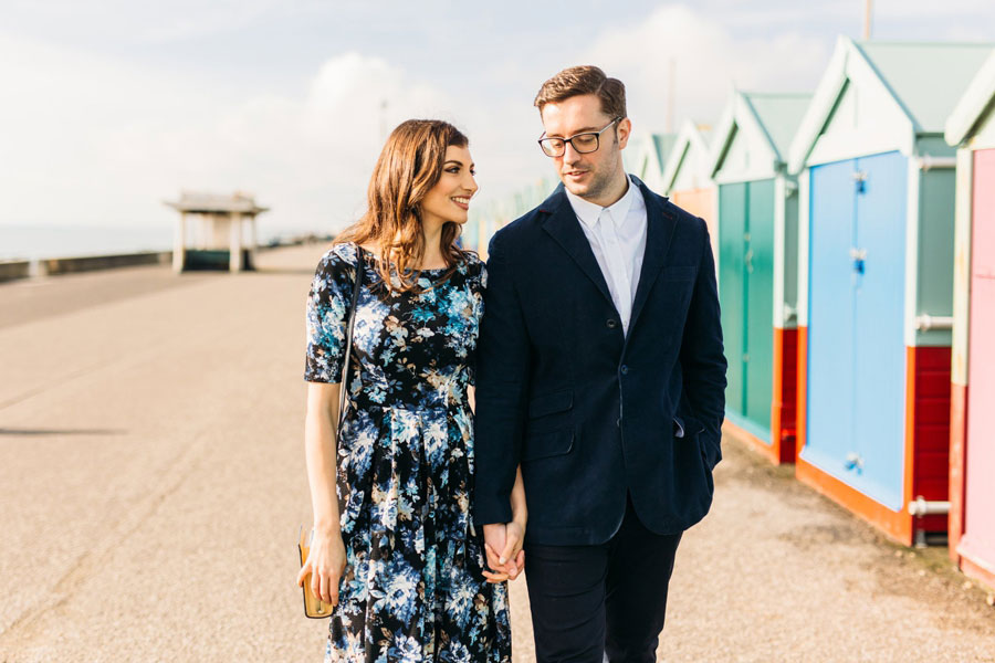 Shoreham Beach & Brighton Bandstand Engagement- Mike & Amy0022