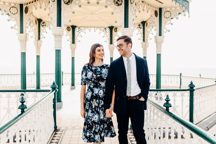 Shoreham Beach & Brighton Bandstand Engagement- Mike & Amy0029