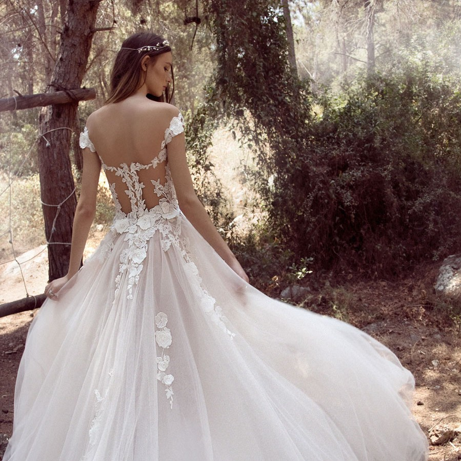 Wedding Dresses for the Urban-Boho Bride- Gala Collection No. IV0004