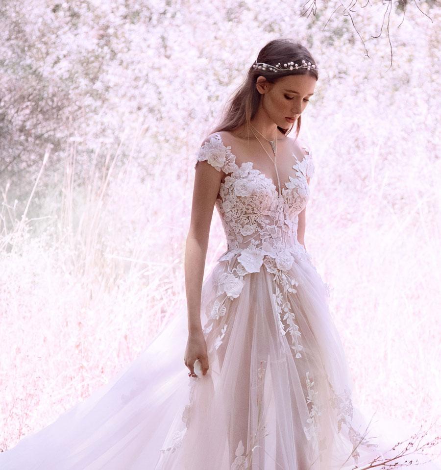 Wedding Dresses for the Urban-Boho Bride- Gala Collection No. IV0006