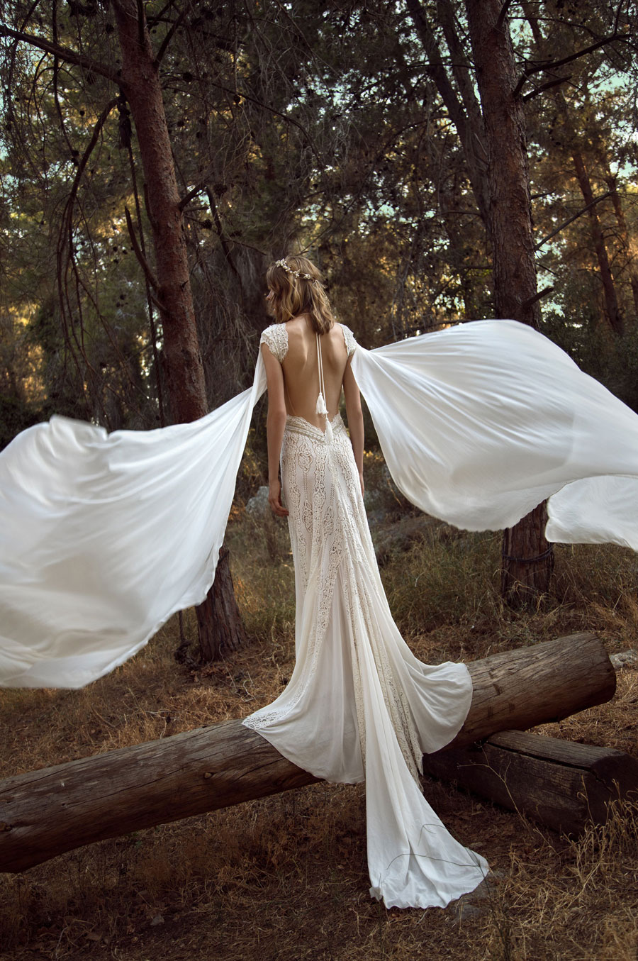 Wedding Dresses for the Urban-Boho Bride- Gala Collection No. IV0018
