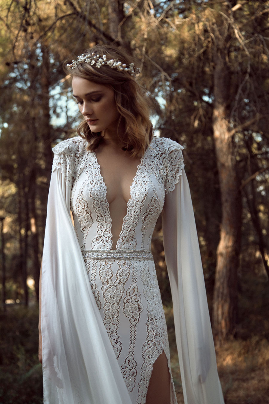 Wedding Dresses for the Urban-Boho Bride- Gala Collection No. IV0019