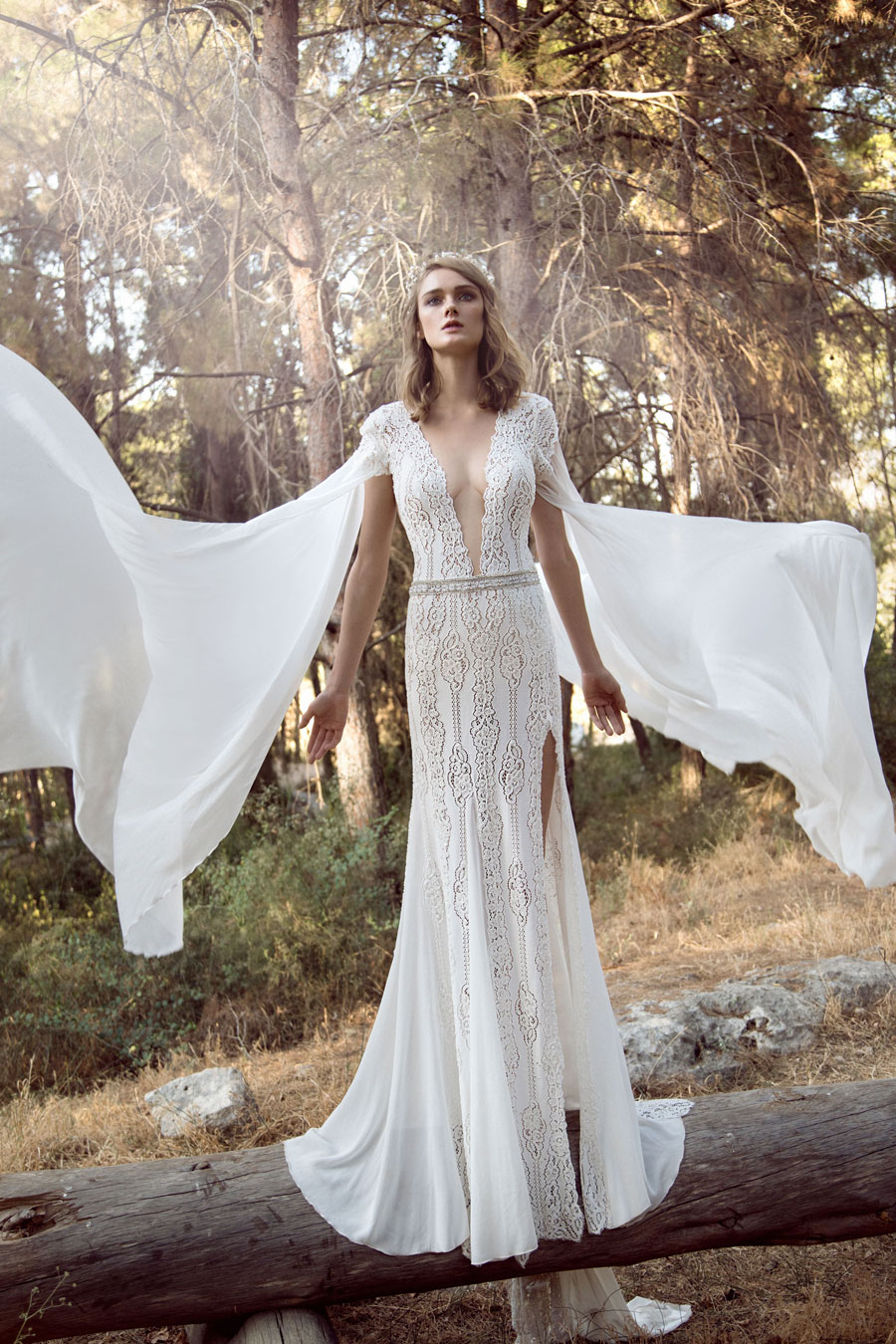 Wedding Dresses for the Urban-Boho Bride- Gala Collection No. IV0020