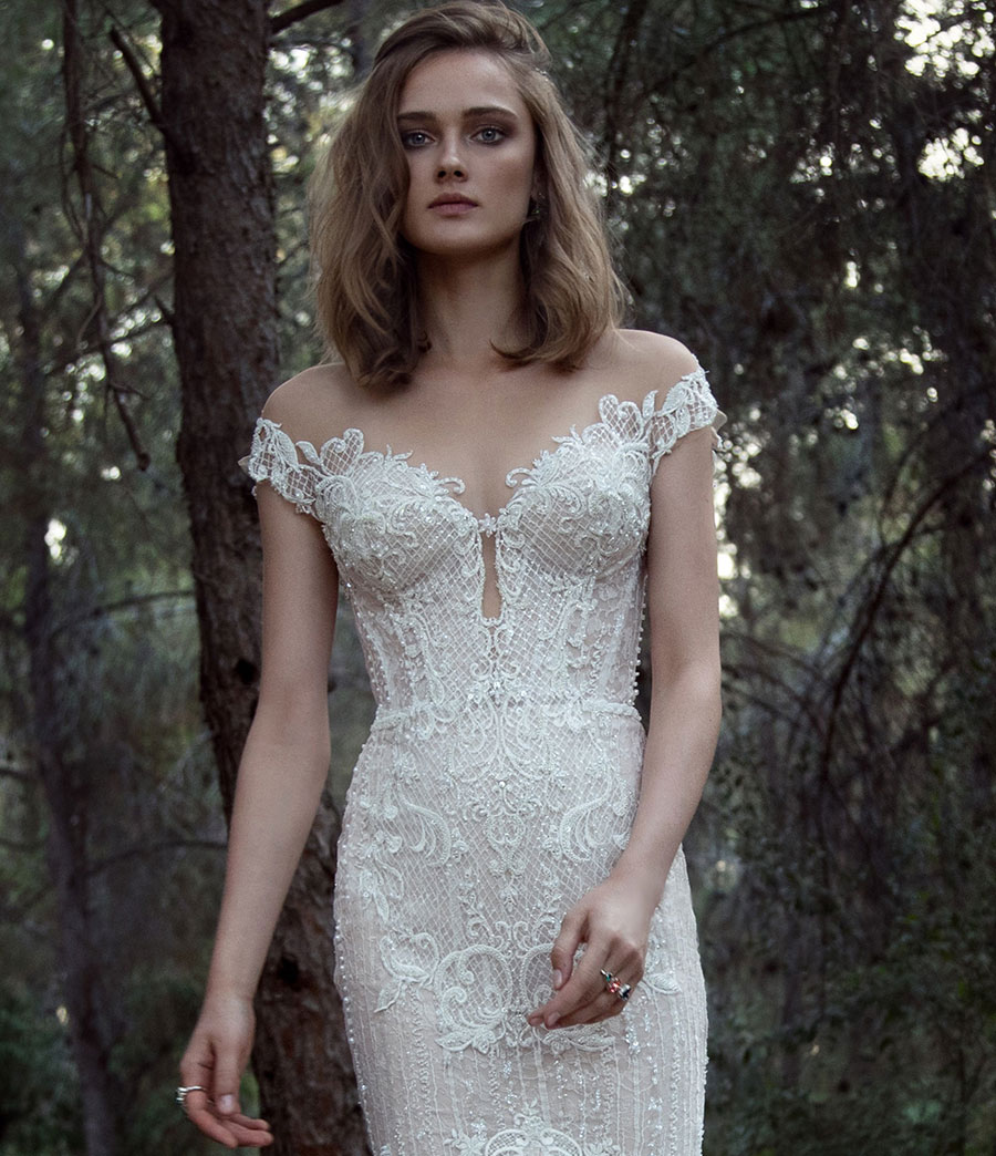 Wedding Dresses for the Urban-Boho Bride- Gala Collection No. IV0030