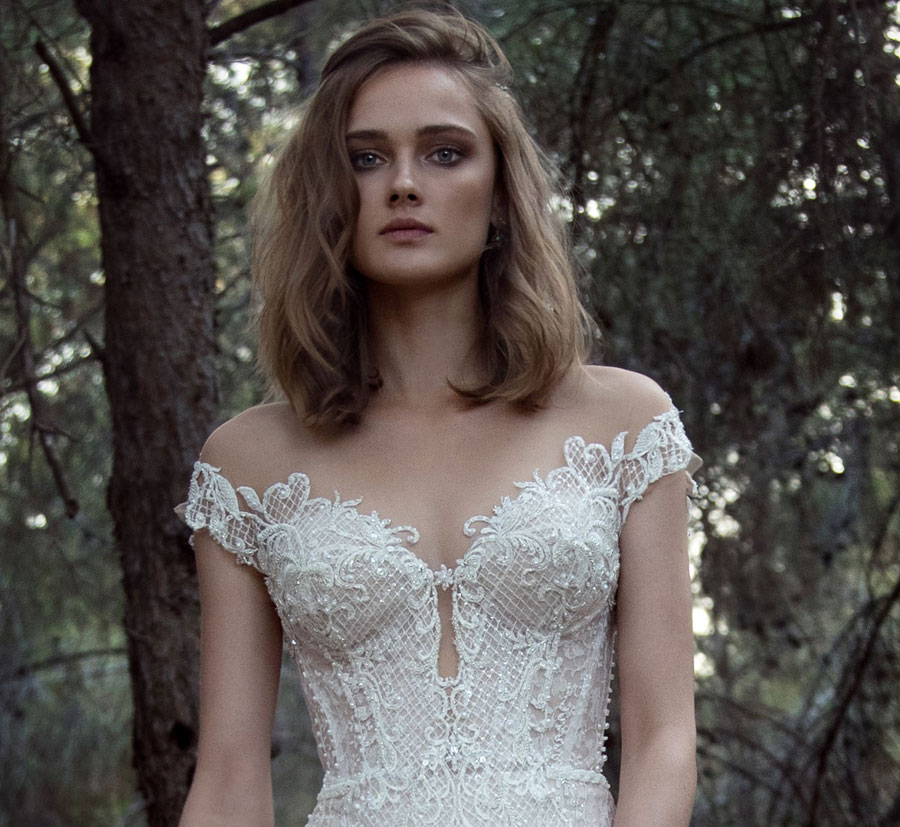Wedding Dresses for the Urban-Boho Bride- Gala Collection No. IV0031