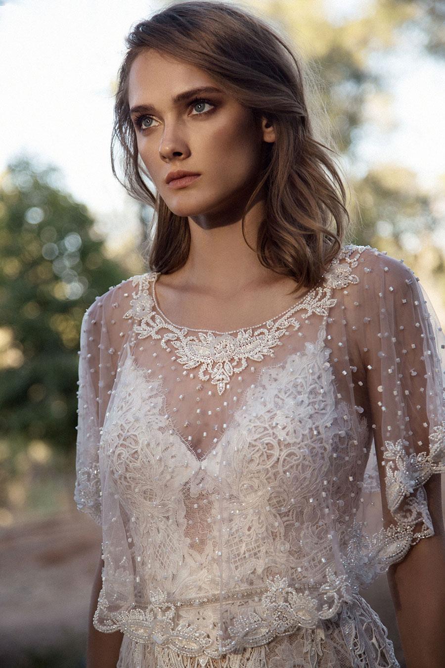 Wedding Dresses for the Urban-Boho Bride- Gala Collection No. IV0046