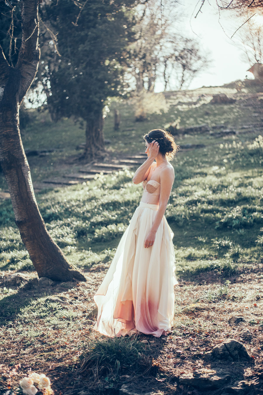 Wild Ombre Inspired Bridal Shoot!0053