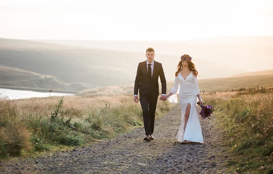 Beautiful Bohemian Yorkshire Moors Love Shoot!0004