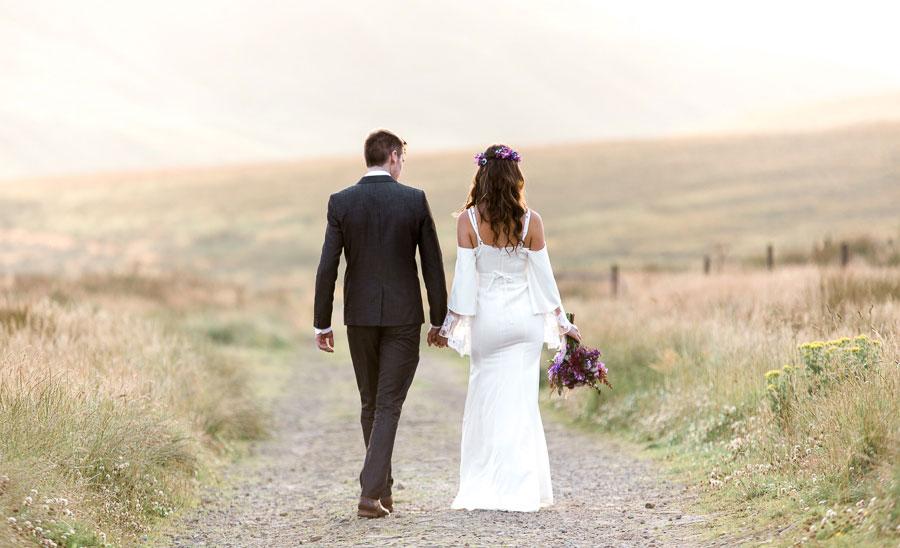 Beautiful Bohemian Yorkshire Moors Love Shoot!0006