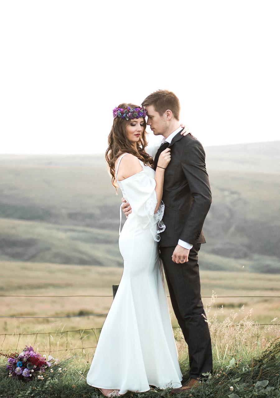Beautiful Bohemian Yorkshire Moors Love Shoot!0031