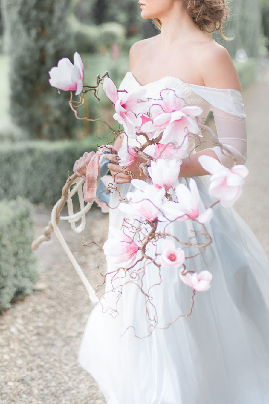 Natural Elements! A Fine-Art Inspired Editorial With Magnolia & Cherry Blossoms0050
