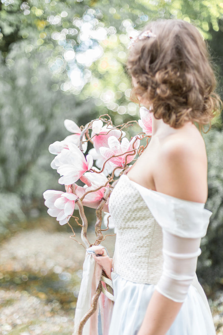 Natural Elements! A Fine-Art Inspired Editorial With Magnolia & Cherry Blossoms0097
