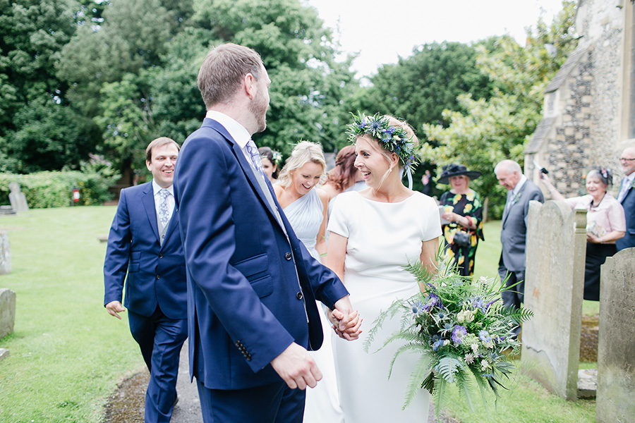 Joss and Tim- The riverside Marquee Wedding-209