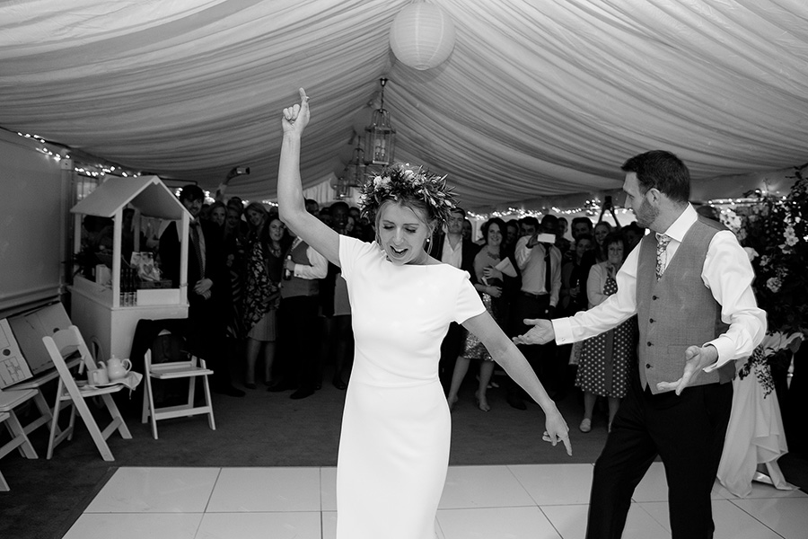 Joss and Tim- The riverside Marquee Wedding-707