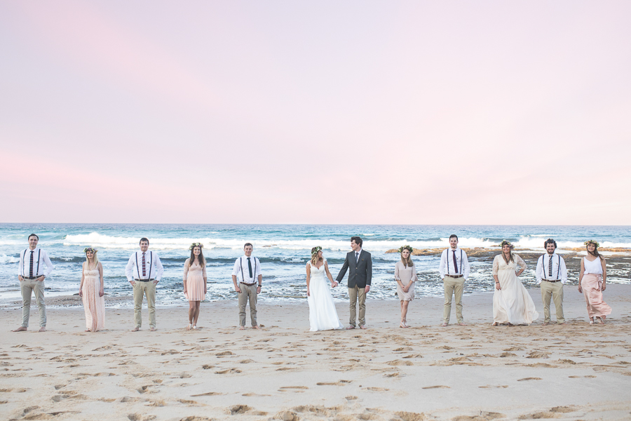Beach Meets Forest Wedding at Coral Divers In SA Wedding: Johan & Nadia