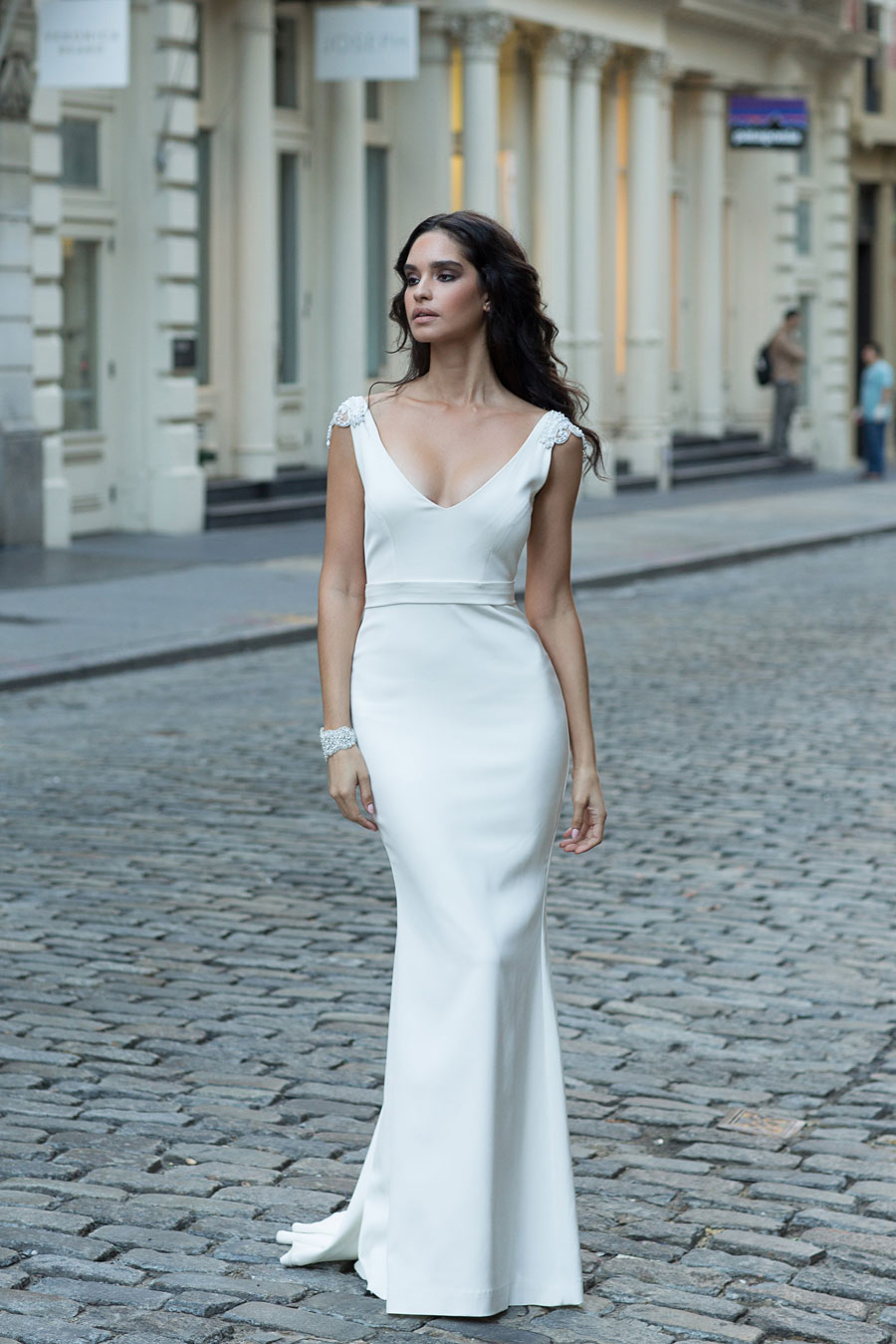 A New York State of Mind! Amazing Anna Campbell Wedding Dresses