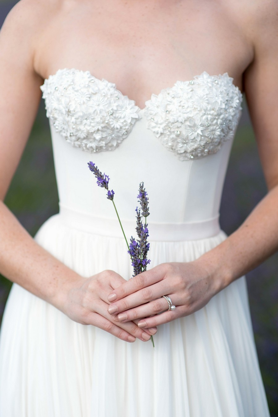Lilac & Cream! A Lovely Lavender Fields Bridal Editorial