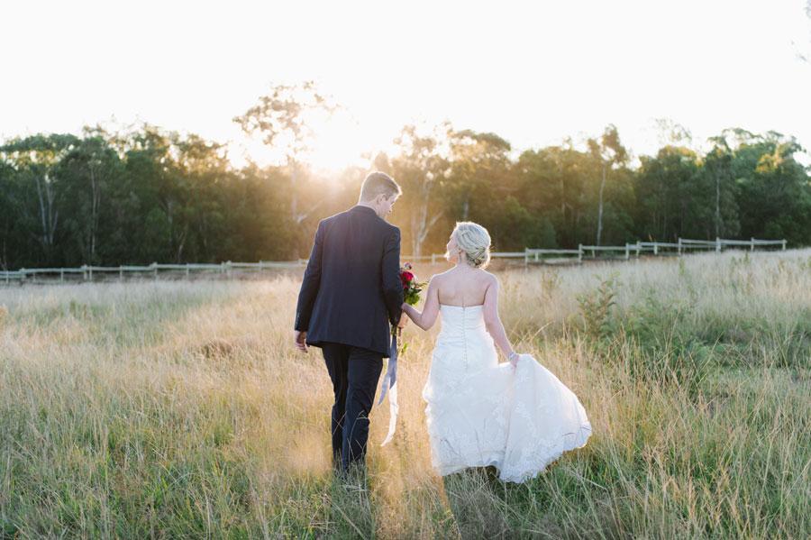 Blush, Merlot & Navy: A Unique Chapel Forest Wedding: Michael & Annemie