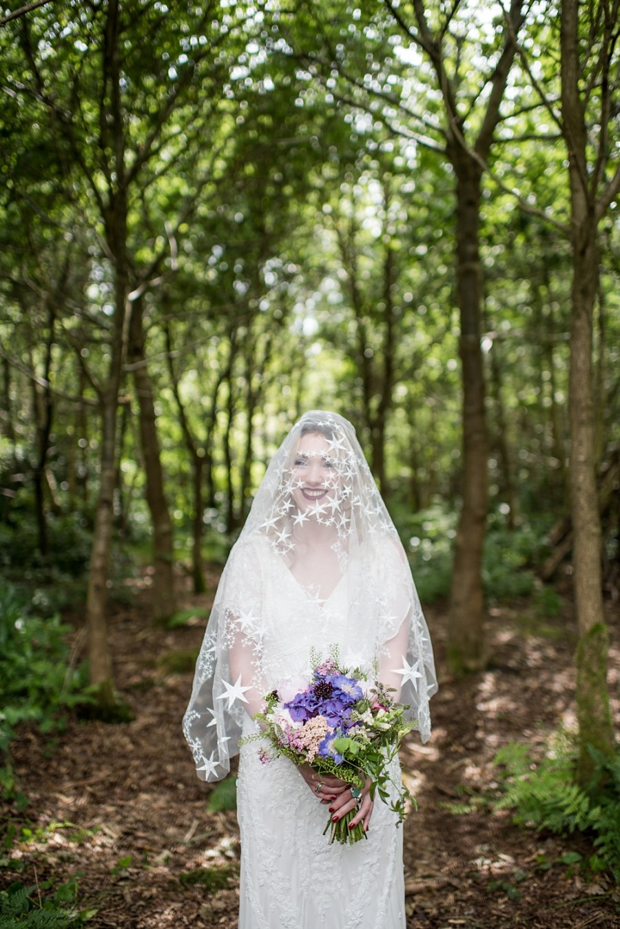 A Fantasy Woodland Bridal Shoot For A Bohemian Inspired Bride