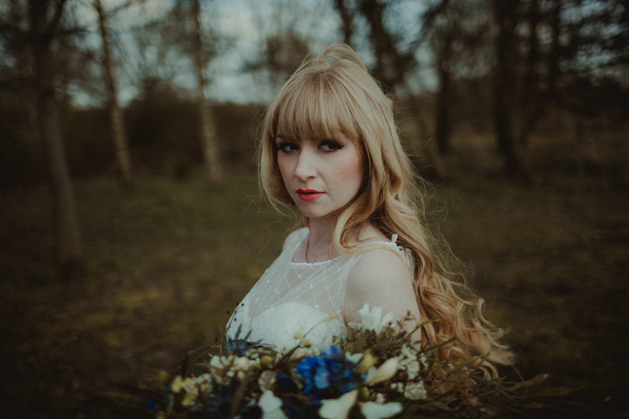 A Whimsical & Rustic, Alice in Wonderland Styled Bridal Shoot!