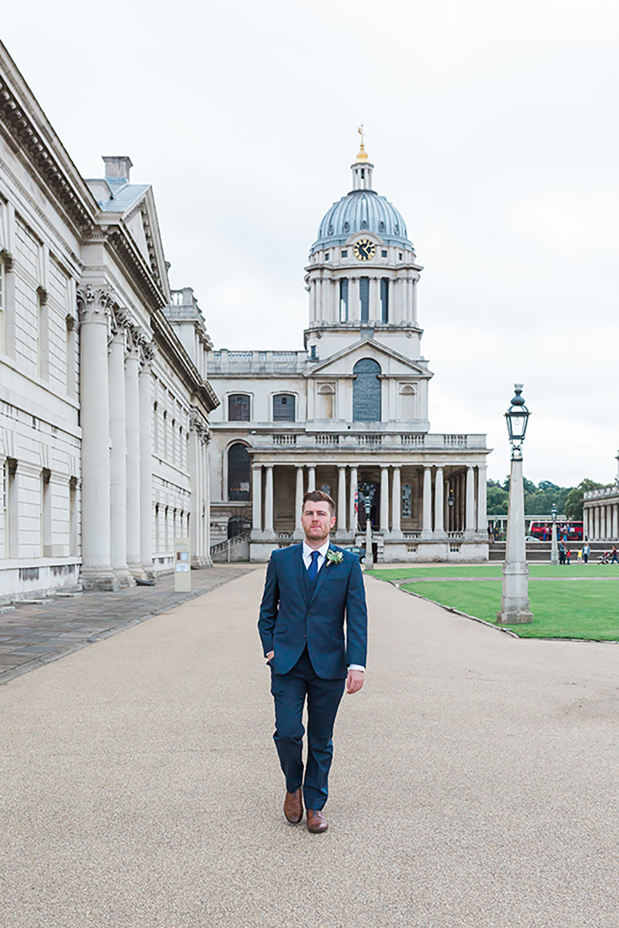 Groom at the Naval College Greenwich