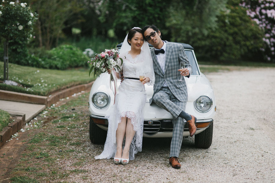 An Eco-Sustainable Vintage Wedding With a Lop Eared Bunny Rabbit for Best Man!