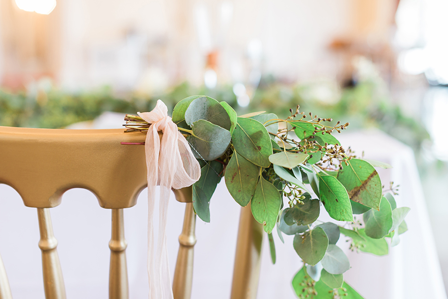 fresh green wedding inspiration