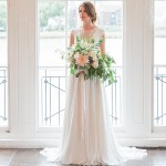 romantic Ivy & Aster wedding gown