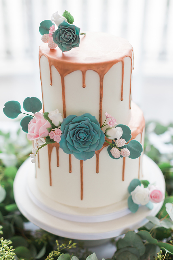 wedding drip cake London