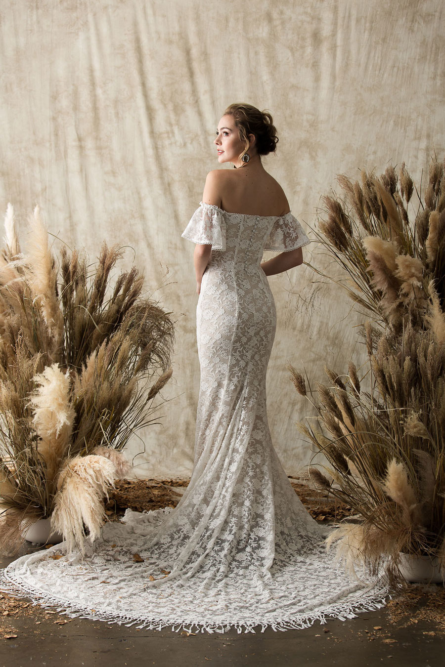 2af364eafc3 Laid-Back Boho Wedding Dresses! Etheria by Dreamers   Lovers