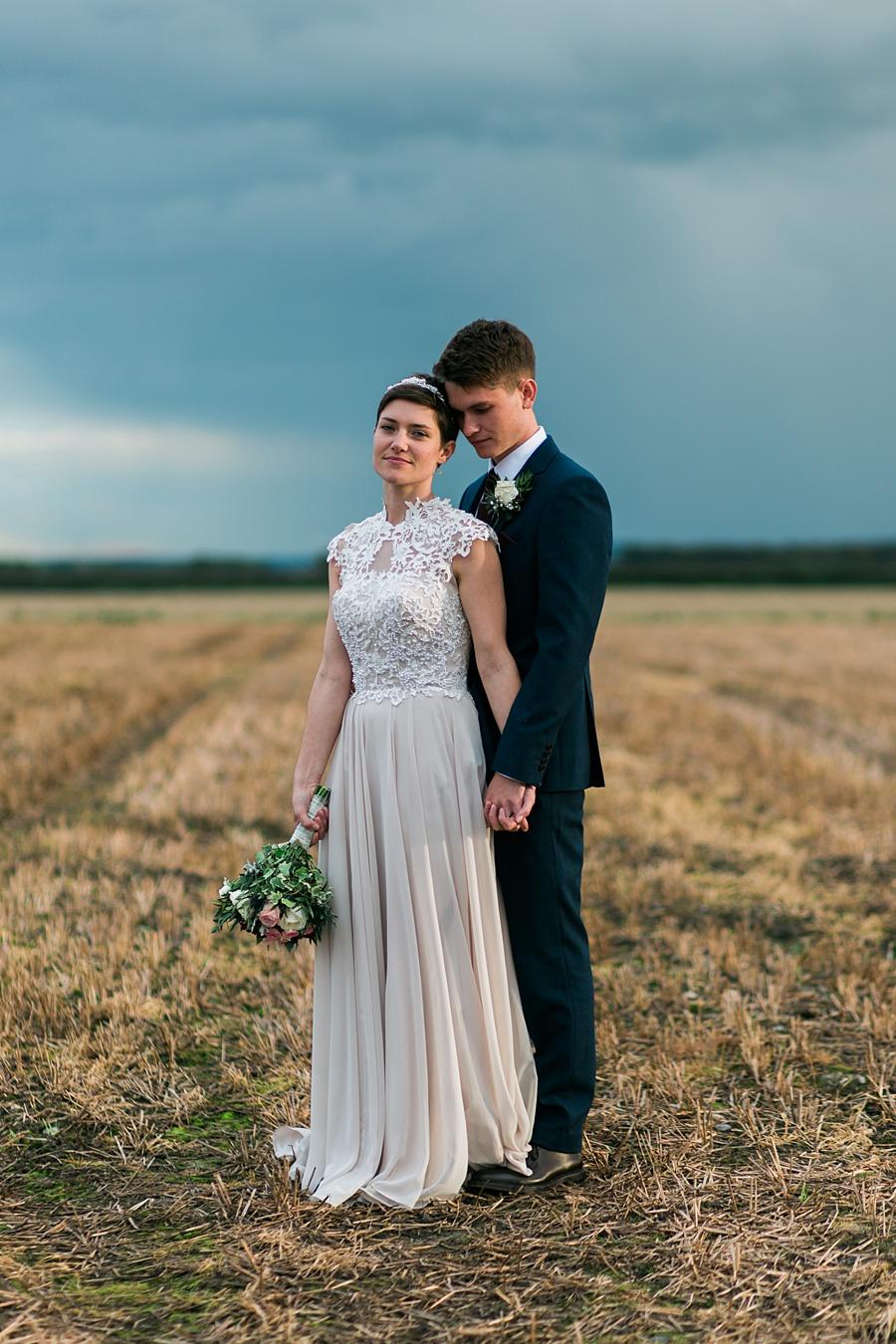 A Rustic Minimalist, Farm Wedding: Emma & Sam - BridalPulse