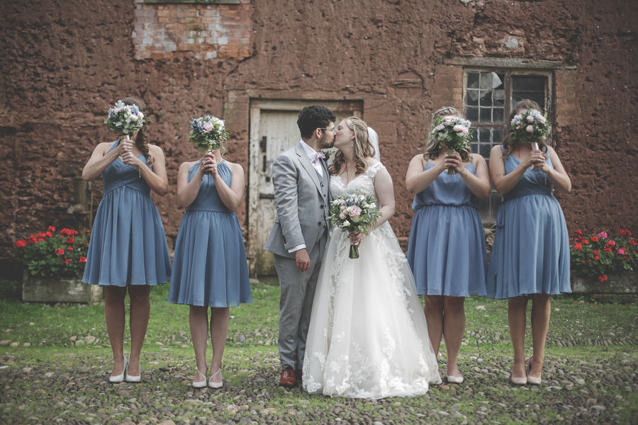 A Subtle Midsummer Night's Dream Wedding: Christine & Tom