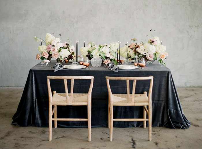 Modern Textured Tablescape