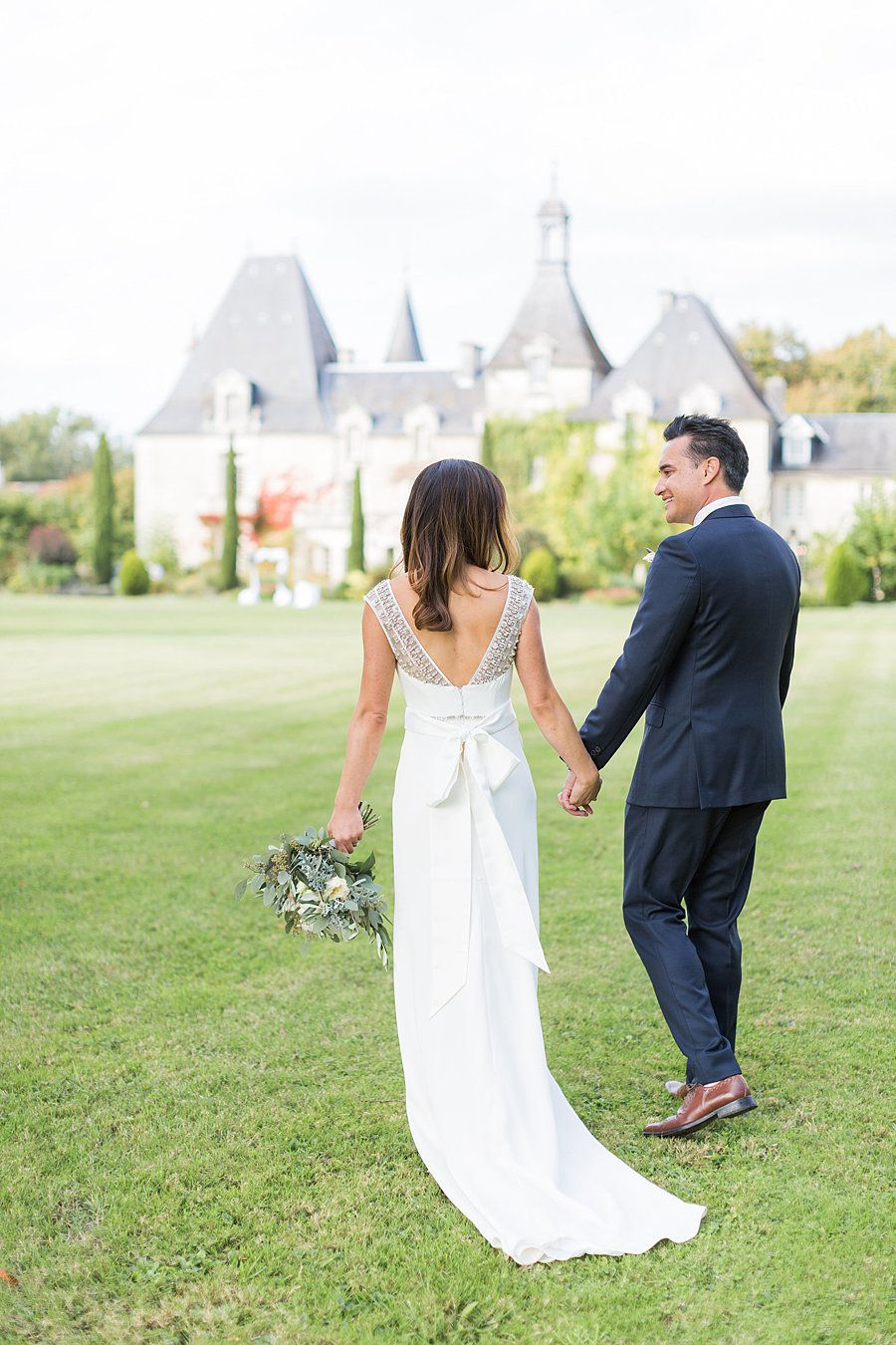 Chateau Charmant Wedding French Grey Photography56