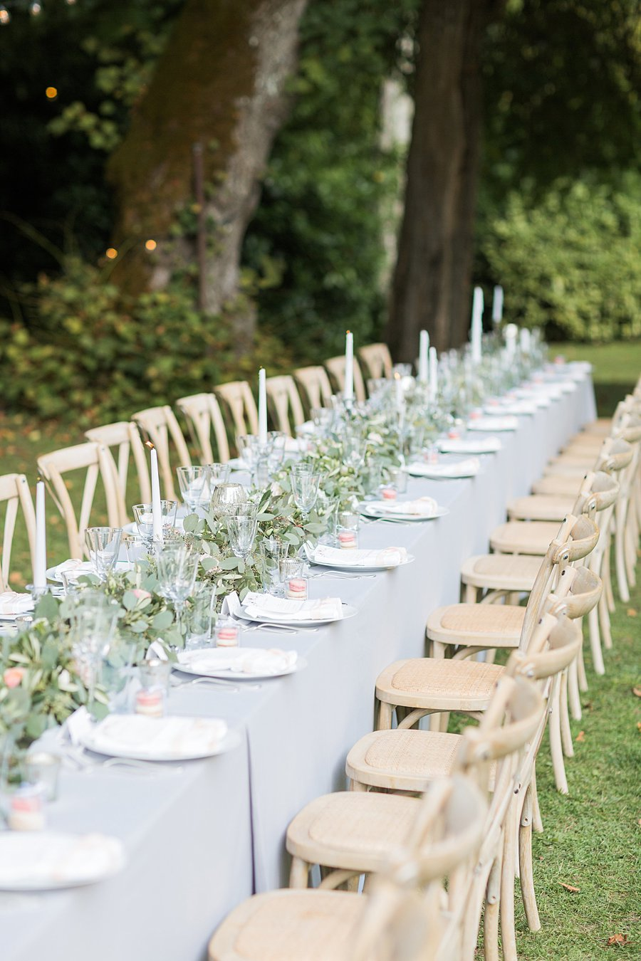 Charming South of France Chateau Wedding with Jenny Packham Bride ...