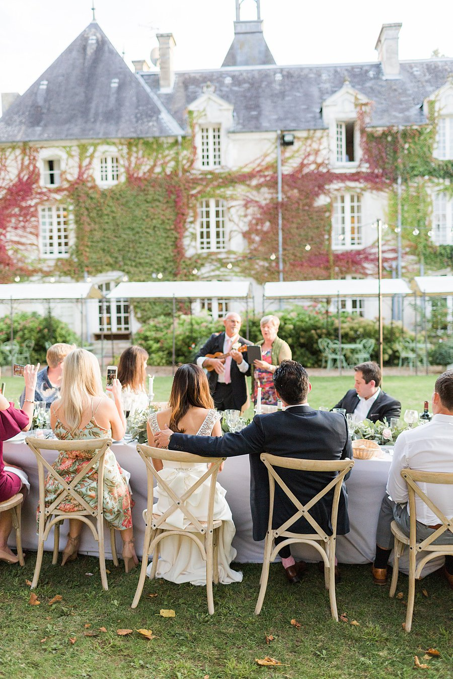 Chateau Charmant Wedding French Grey Photography73