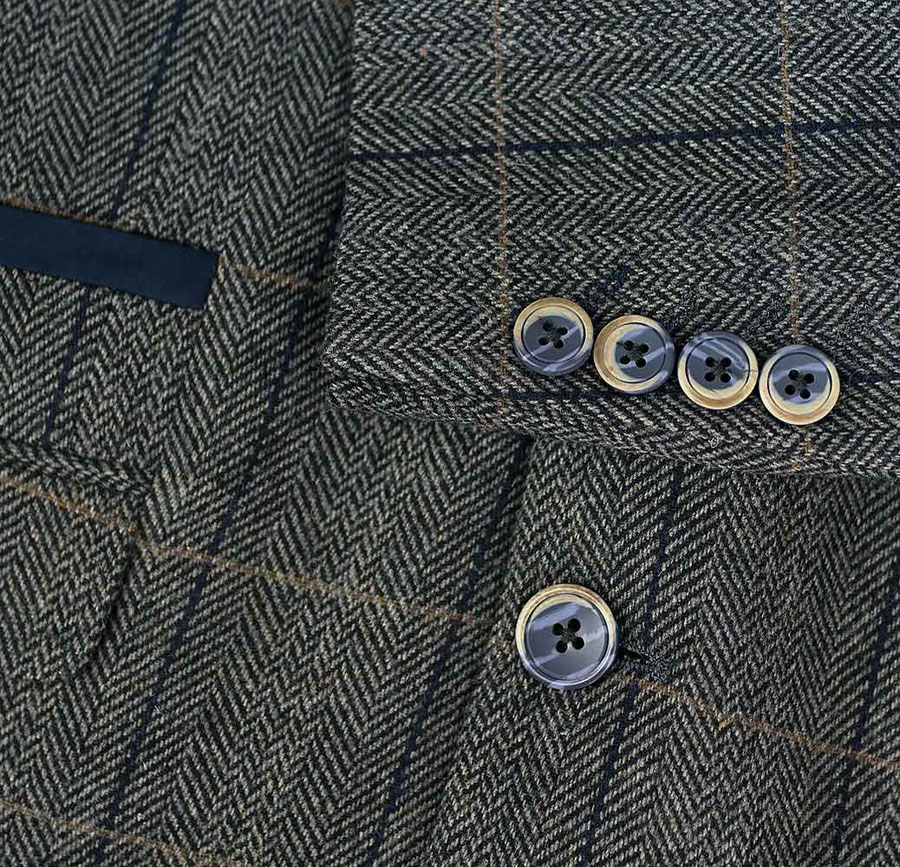 Adam-York—Cavani-Albert-Grey-Three-Piece-Suit-Details