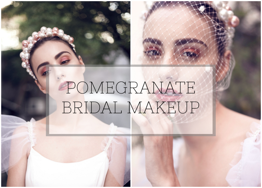 Makeup Tutorial: Pretty Pomegranate Bridal Beauty Inspiration from Beyouty!