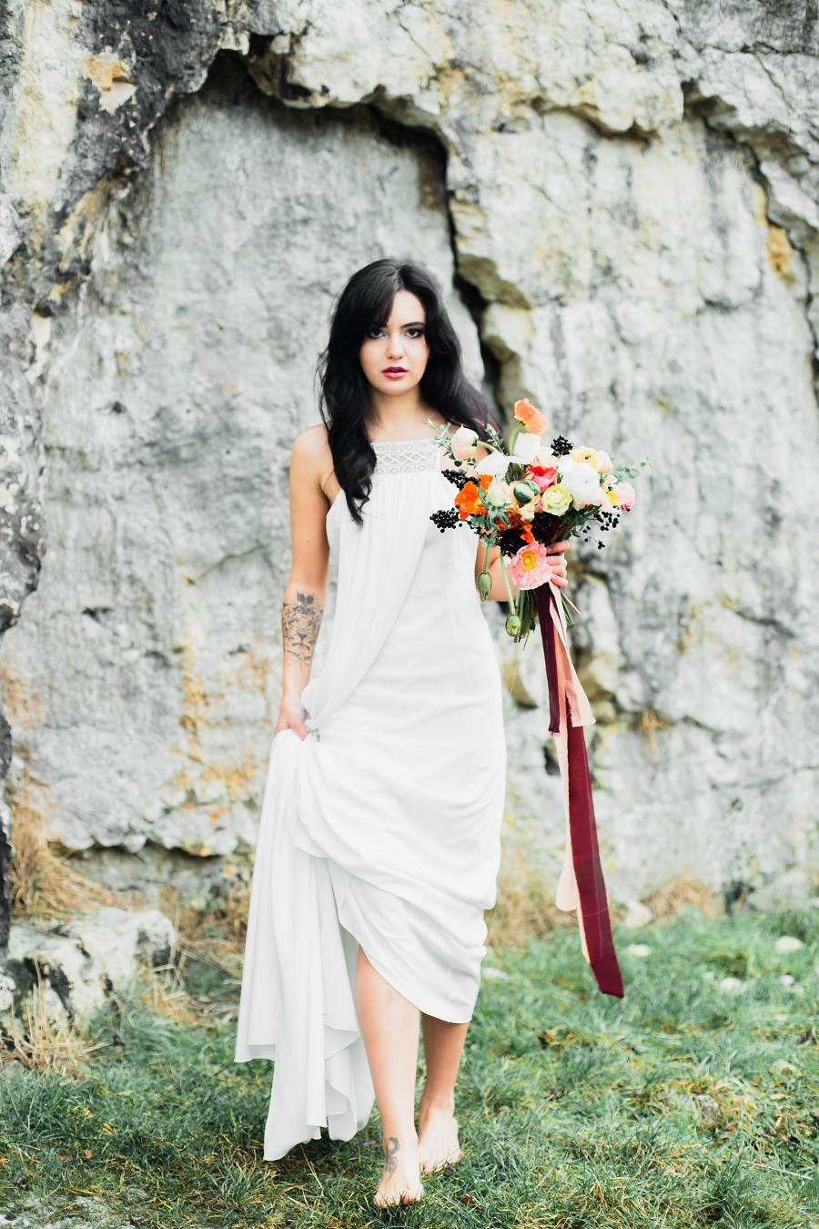 Black mood – wedding inspiration_Poland33