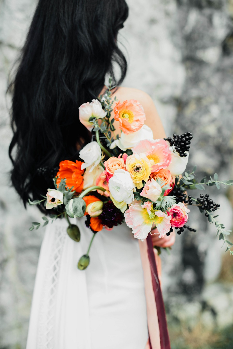 Black mood – wedding inspiration_Poland38