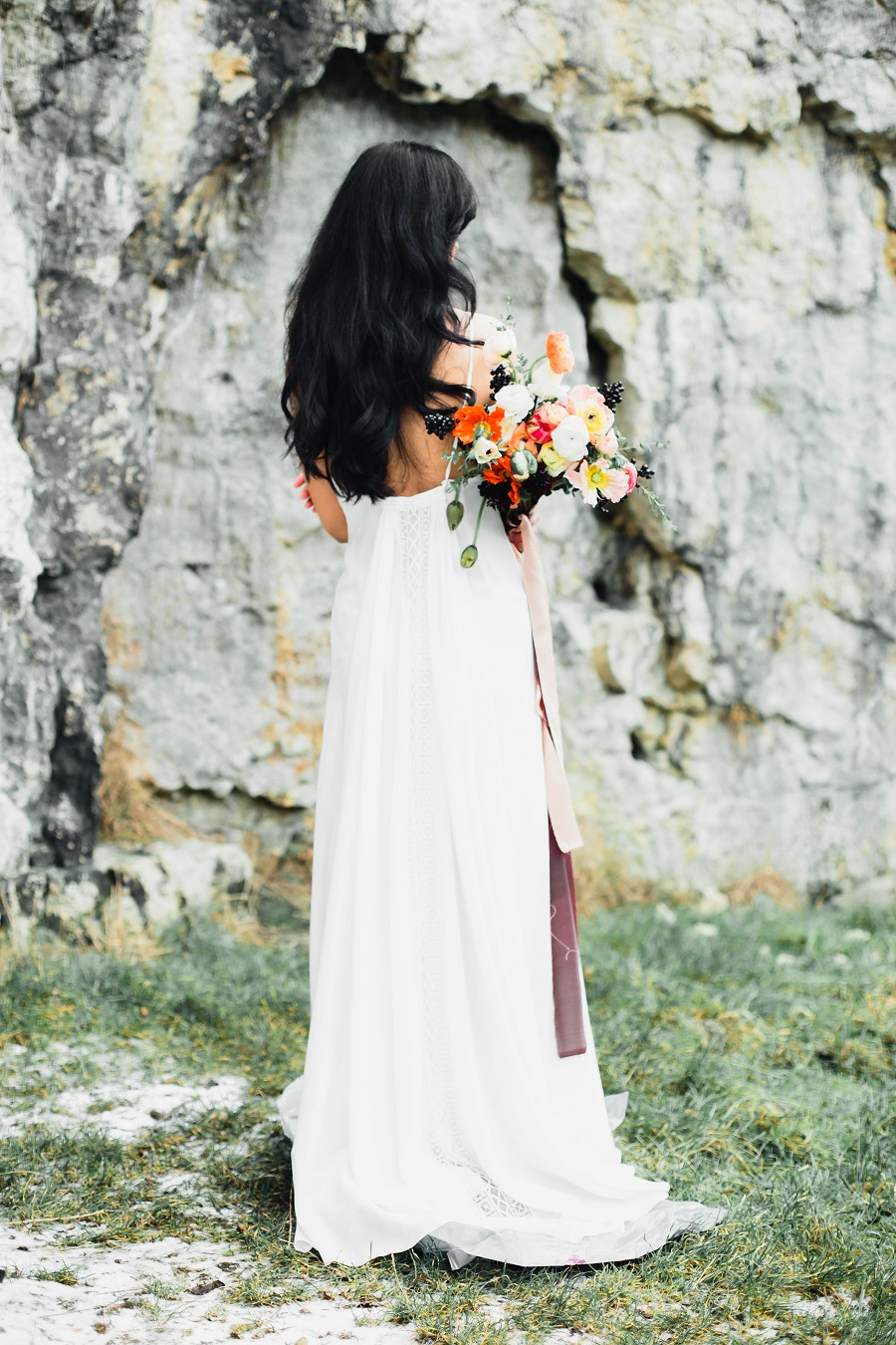 Black mood – wedding inspiration_Poland40