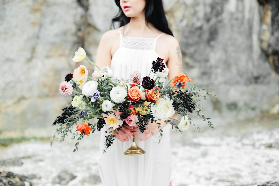 Black mood – wedding inspiration_Poland53