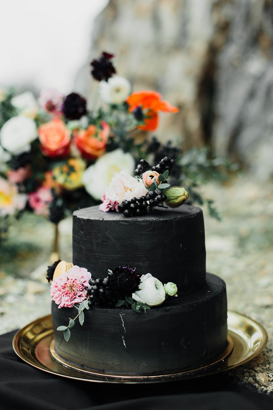 Black mood – wedding inspiration_Poland7
