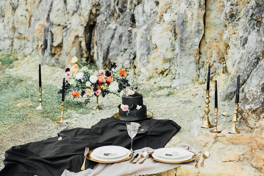 Black mood – wedding inspiration_Poland8
