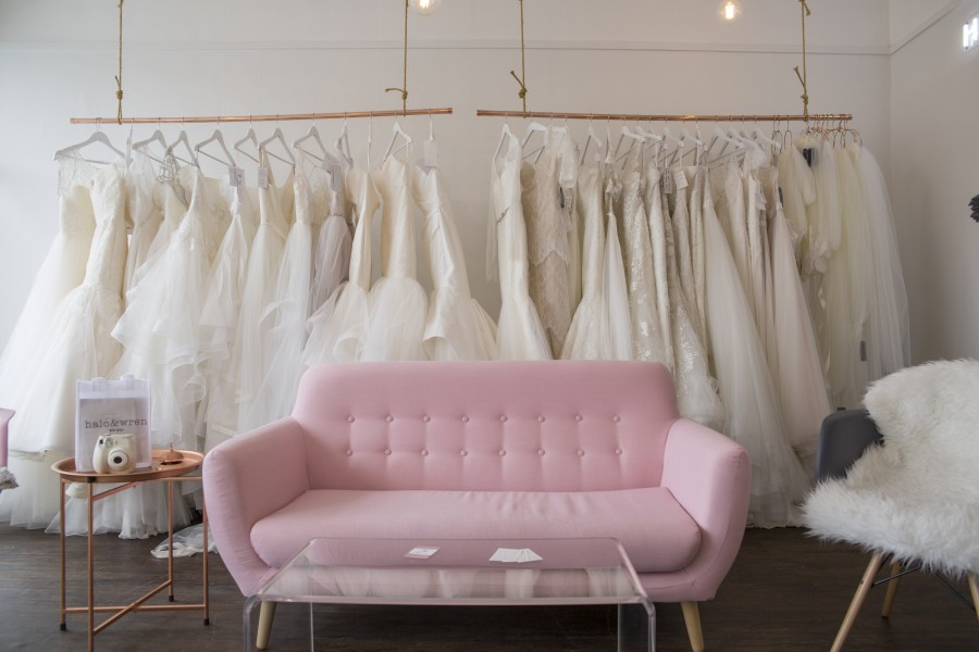 Affordable & Cool Wedding Dresses from Unique & Independent Bridal Designers: Halo & Wren