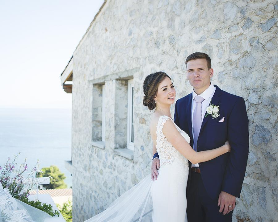 Barefoot Bride in Skiathos Destination Wedding with Natural Theme ...