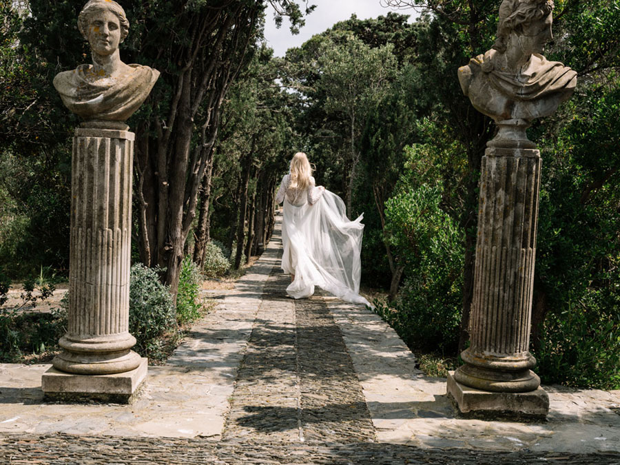 Med, A Daydream Bridal Collection for 2018 by Spanish Wedding Dress Designer, Marta Marti