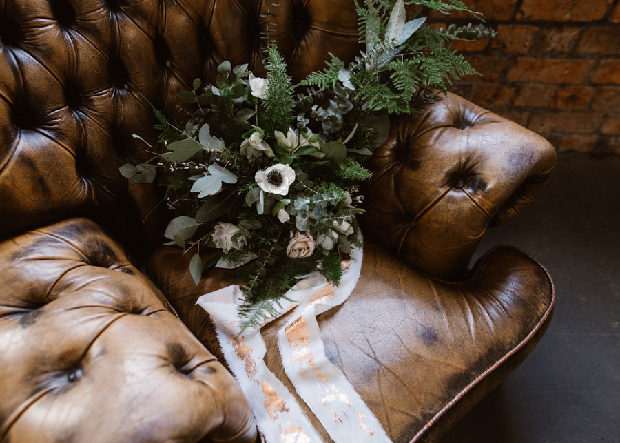 Copper and Eucalyptus Wedding Inspiration