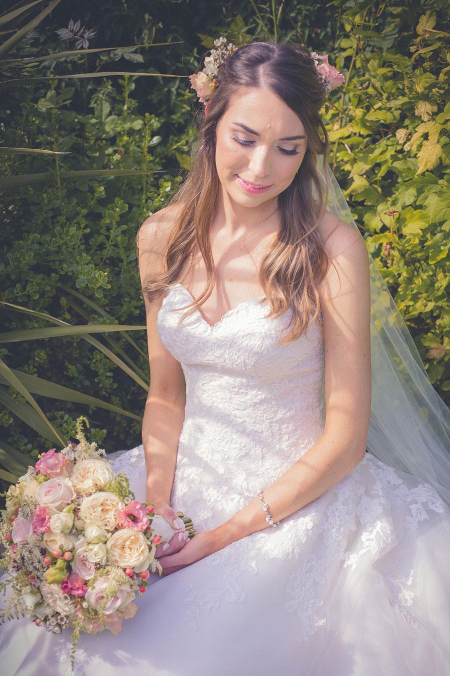 An Outdoor Pretty Pastel & Rose Gold Barn Wedding: Laura & Jonathan